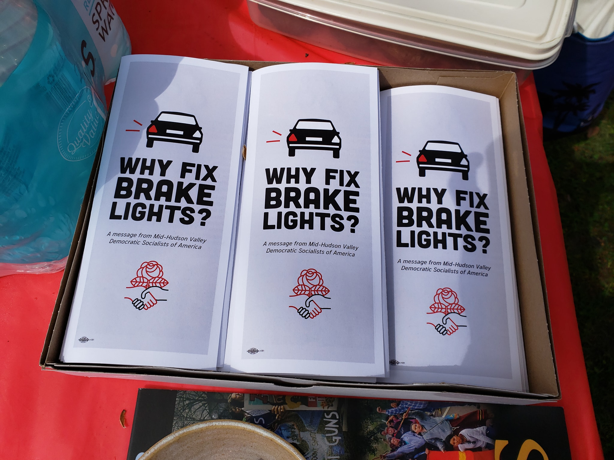 Kingston Brake Light Clinic Planning Meeting
