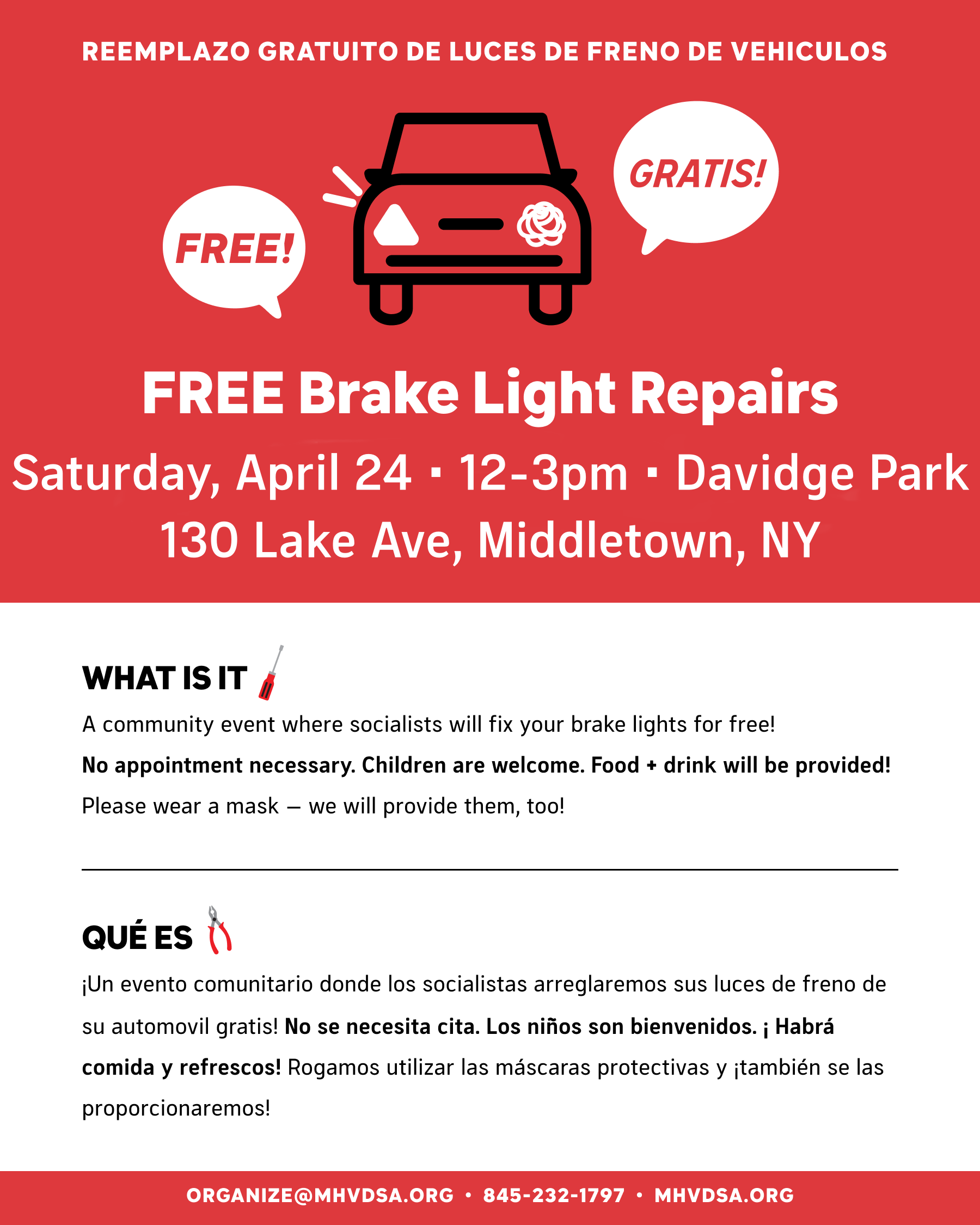 Free Brakelight Repairs