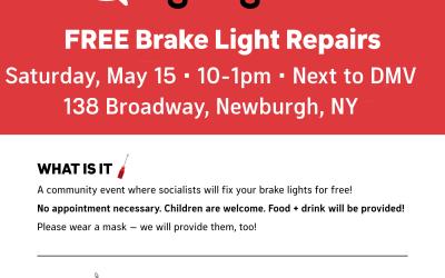 NOTE: Newburgh Free Brake Light Repairs 5/15